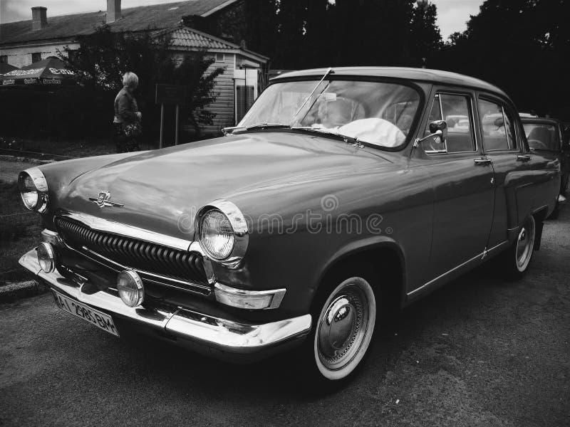 Bella vecchia automobile immagini stock