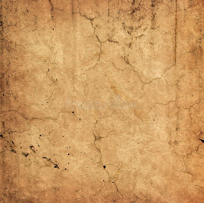 Bella vecchia parete con le crepe immagine stock libera da diritti