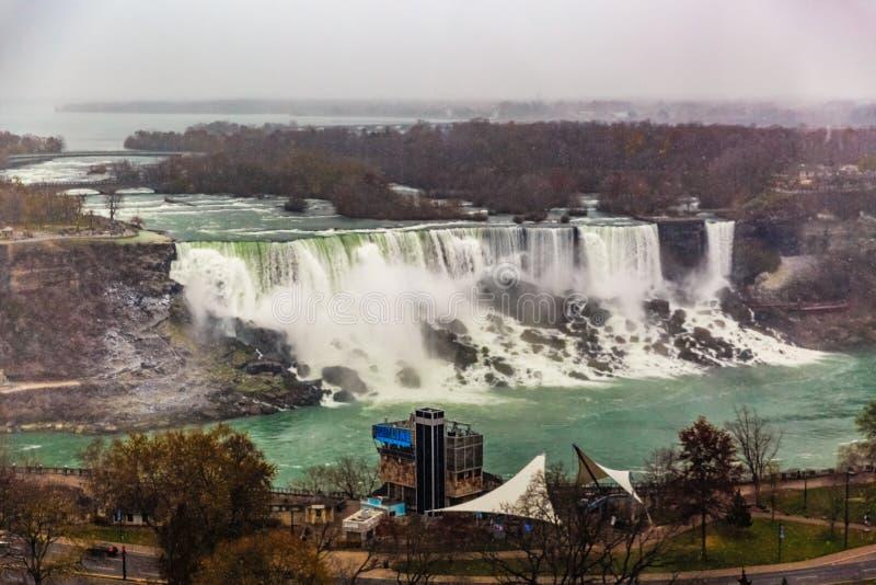 Bella vista al cascate del Niagara, Ontario, Canada fotografia stock