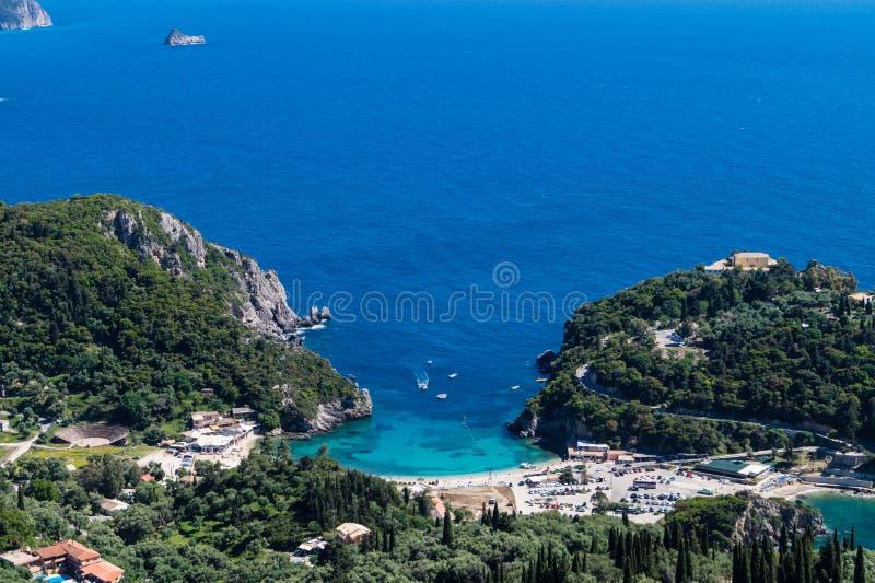 Bella Vista Corfu stockfotografie