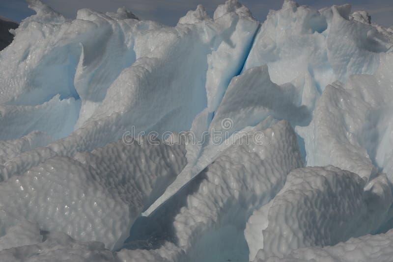 Bella vista degli iceberg in Antartide fotografie stock libere da diritti