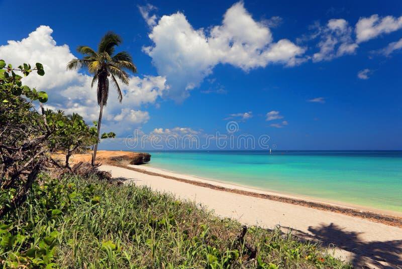Bella vista dell'Oceano Atlantico fotografia stock libera da diritti