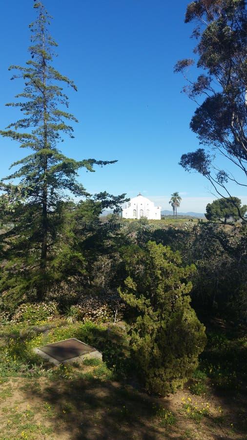 Bella vista di estate pacifica della montagna fotografia stock libera da diritti