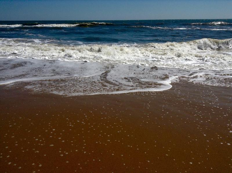 Bella vista di oceano immagini stock libere da diritti