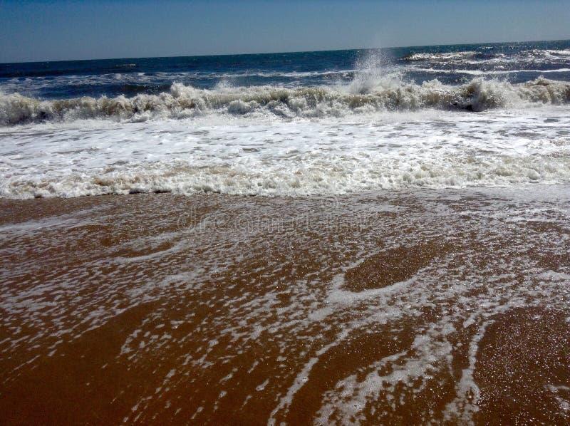 Bella vista di oceano fotografie stock