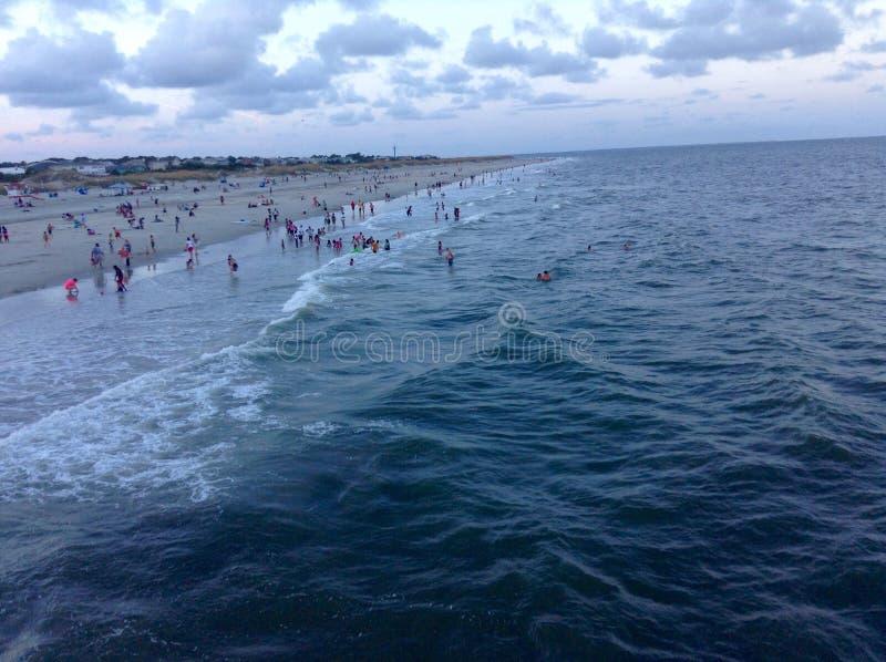 Bella vista di oceano immagini stock