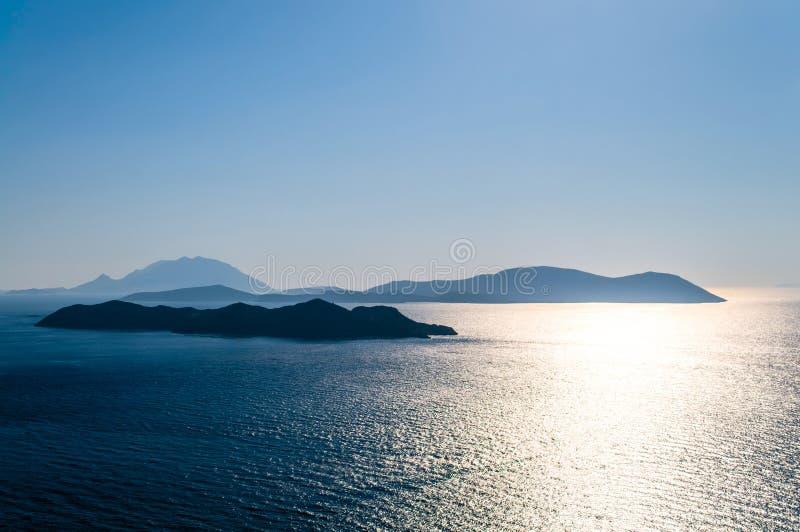 Bella vista sul mare immagini stock libere da diritti