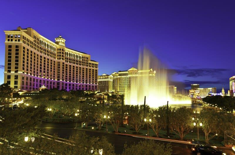 Bellagio, Лас-Вегас стоковые изображения rf