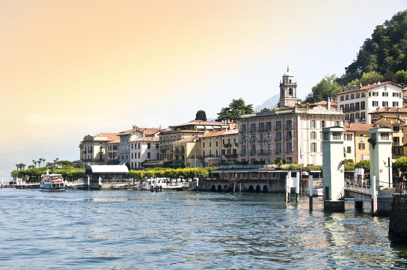 Bellagio foto de archivo libre de regalías