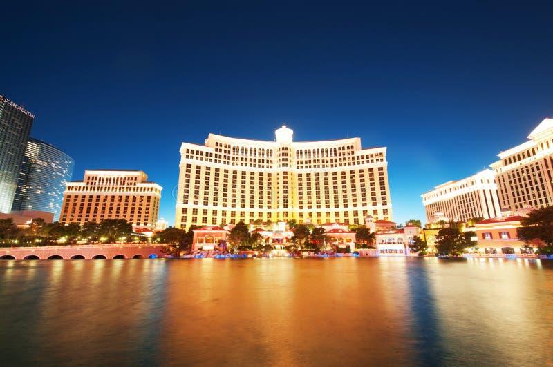 Bellagio 11 2010 las kasynowych hotelowych Sep Vegas obrazy stock