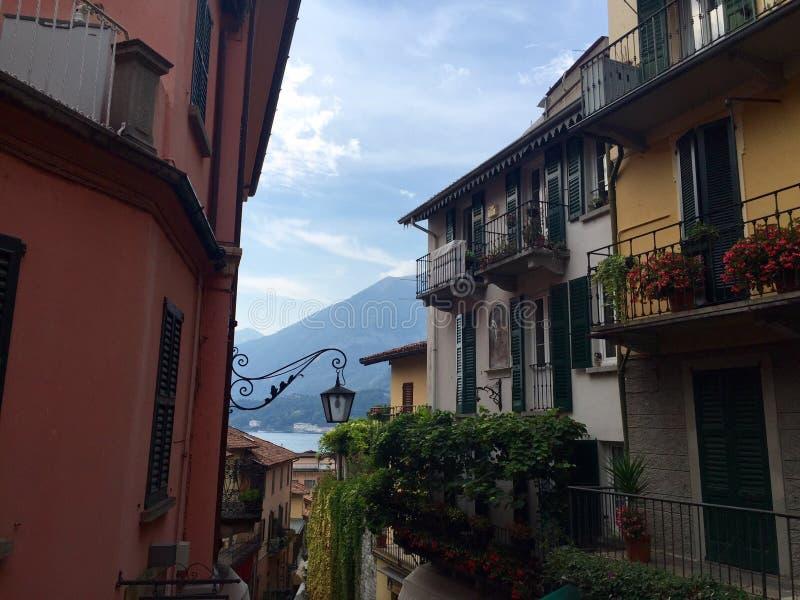 Bellagio imagen de archivo libre de regalías