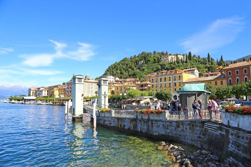 Bellagio auf See Como stockfotografie