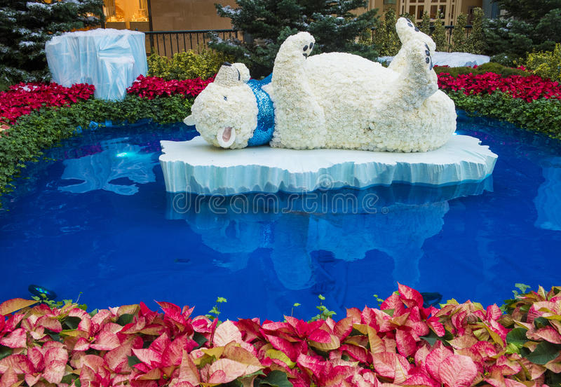 Download Bellagio Hotel Conservatory & Botanical Gardens Editorial Image - Image: 30417260