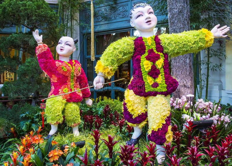 Download Bellagio Hotel Conservatory & Botanical Gardens Editorial Photo - Image: 30417386
