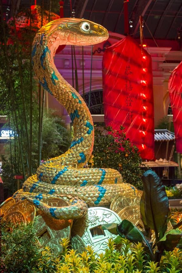 Bellagio Hotel Conservatory & Botanical Gardens Editorial Stock Photo