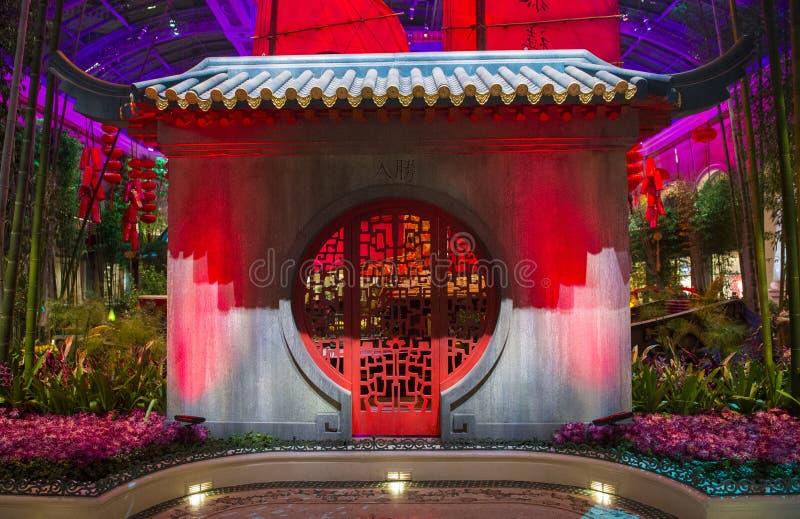 Bellagio Hotel Conservatory & Botanical Gardens Editorial Photography