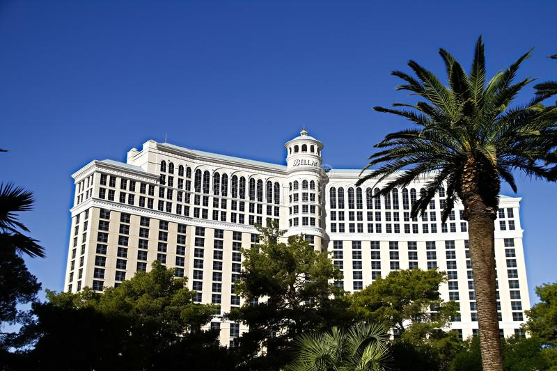 Bellagio-Hotel in Las Vegas stockbilder