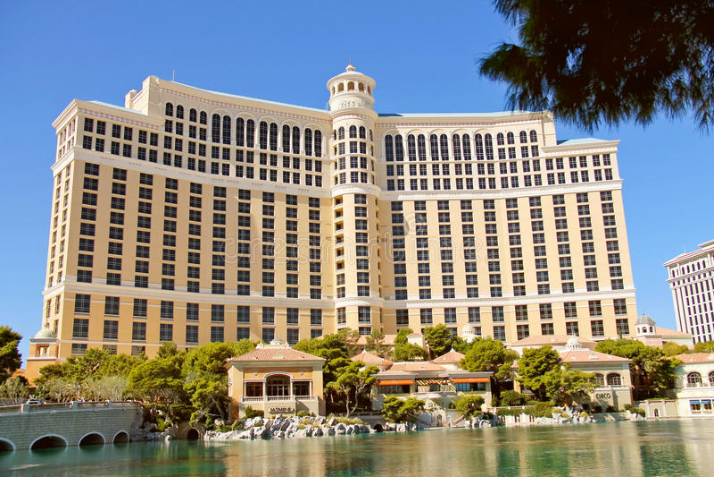 Bellagio-Hotel in Las Vegas stockfoto