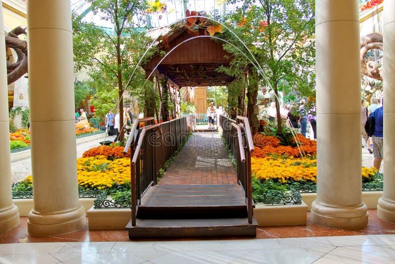 Bellagio hotell i Las Vegas arkivbild