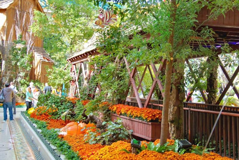 Bellagio hotell i Las Vegas arkivfoto