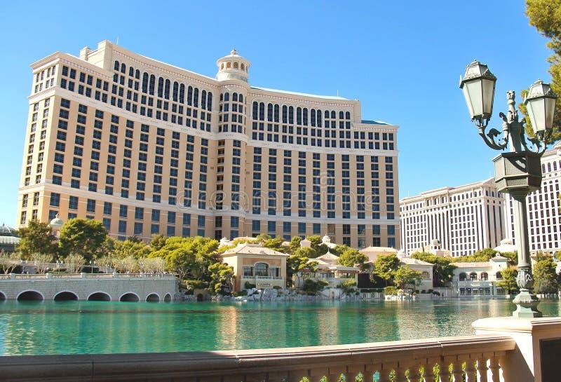 Bellagio hotell i Las Vegas royaltyfri foto