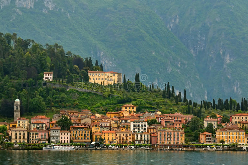 Download Bellagio (Italy) stock image. Image of ship, downtown - 32420057
