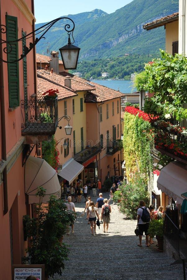 Bellagio, jezioro como, Włochy obraz stock