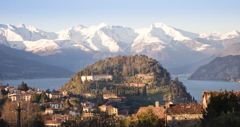 Bellagio, lago Como imagenes de archivo