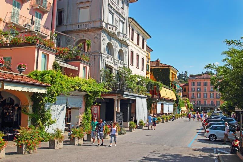 Bellagio, lago Como, Italia foto de archivo libre de regalías
