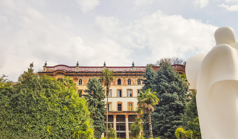 Bellagio on Lake Como, Lombardy, Italy stock photos
