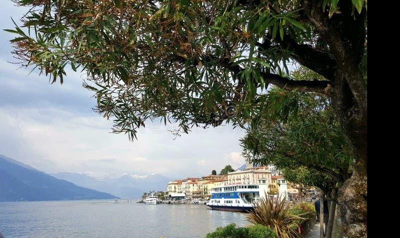 Bellagio on Lake Como, Milan, Italy royalty free stock image