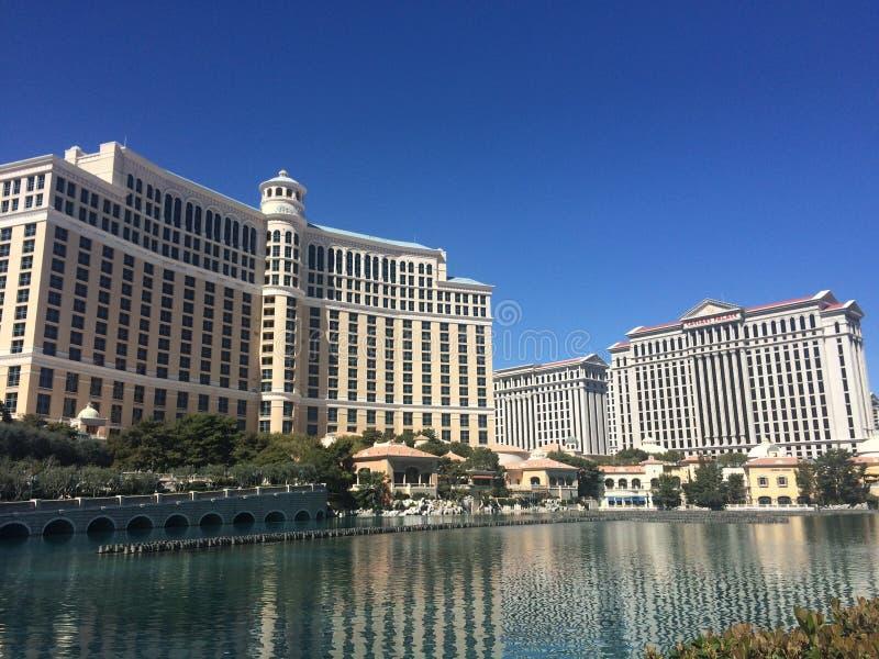 Bellagio Las Vegas foto de archivo libre de regalías