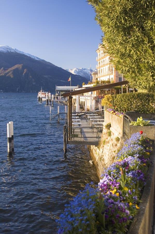 Bellagio Meer Como royalty-vrije stock foto's