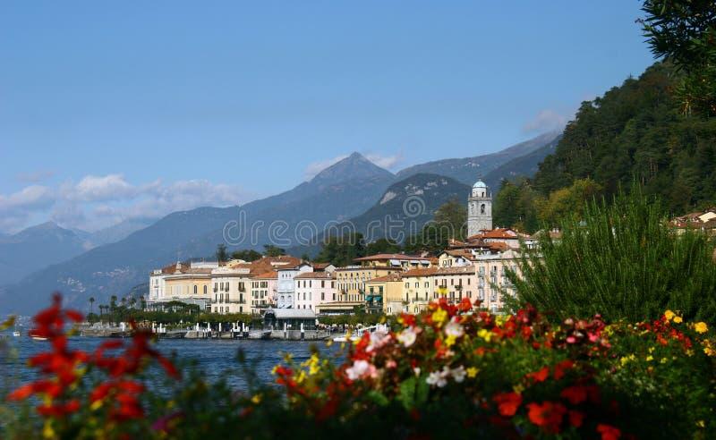 bellagio miasteczko włoski nadjeziorny malowniczy zdjęcie stock