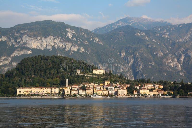 Bellagio sceneria zdjęcie royalty free
