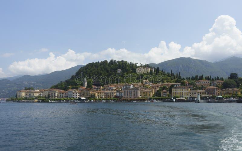 Bellagio sikt royaltyfria foton