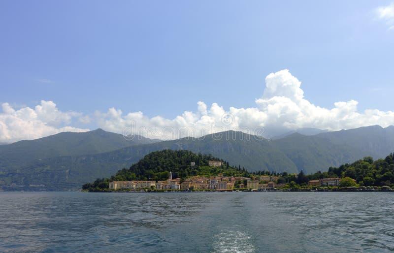 Bellagio sikt arkivfoton