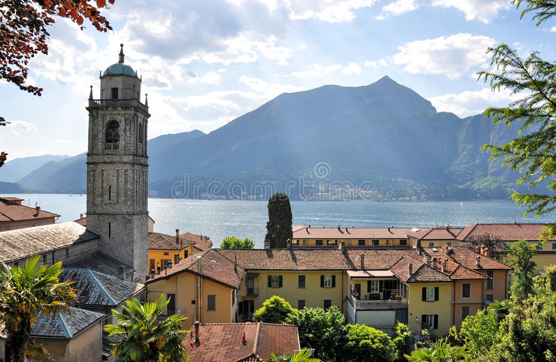 Bellagio town stock photography