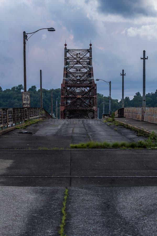 Bellaire-Brücke - der Ohio stockbilder