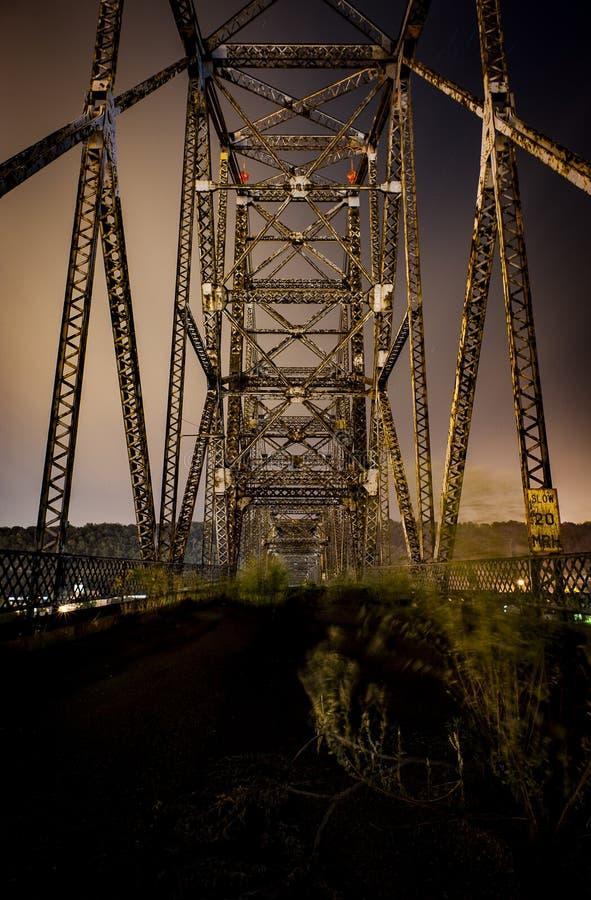 Bellaire-Brücke - der Ohio stockfotos