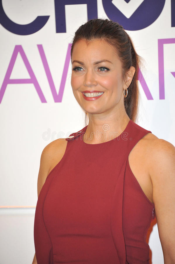 Bellamy Young stock image