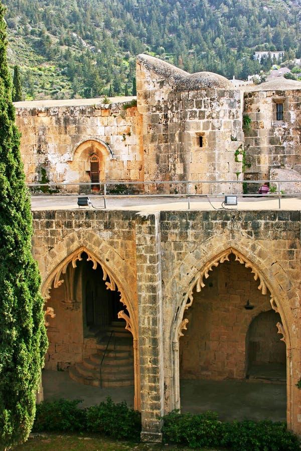 Bellapais abbey royalty free stock image