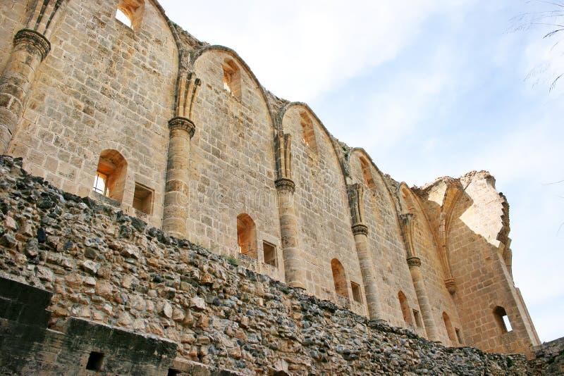 Bellapais abbey stock photos