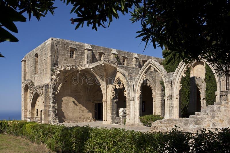 Bellapais Monastery - Turkish Cyprus royalty free stock photos