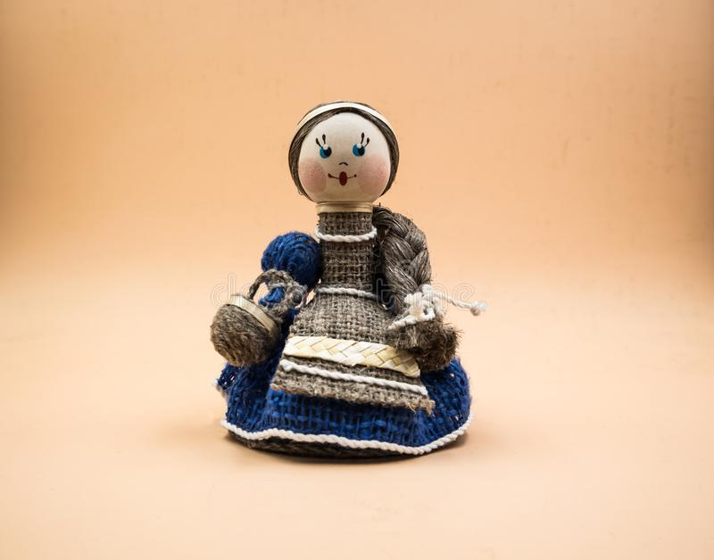 Bellarusianpoppen, speelgoed royalty-vrije stock afbeeldingen