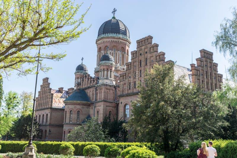 Belle église d'université dans le style bizantin image libre de droits