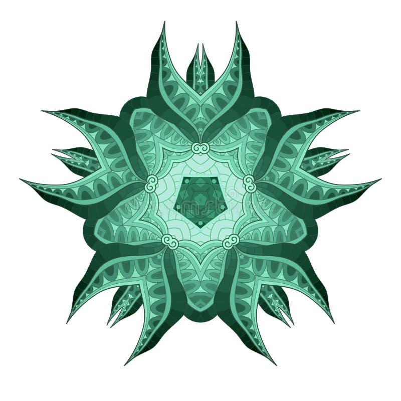 Belle étoile de vecteur en couleurs illustration libre de droits