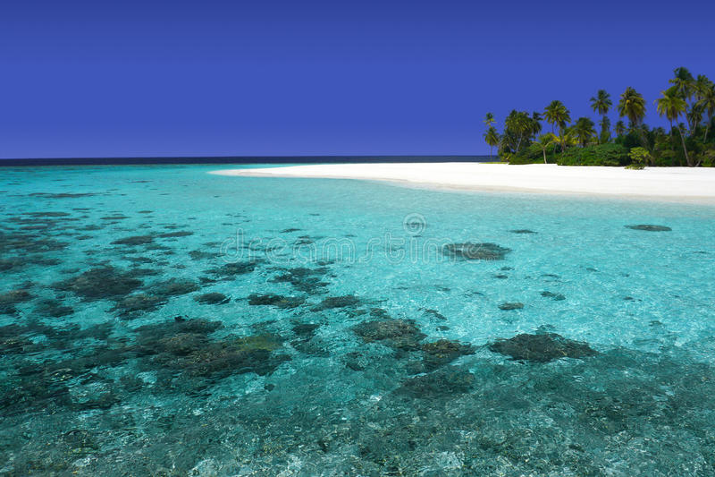 Belle île image stock