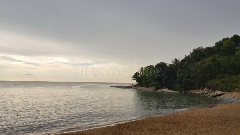 Belle île photo stock
