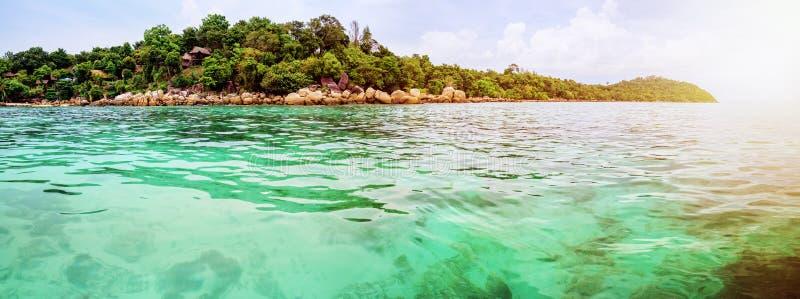 Belle île de Koh Lipe de paysage de nature de panorama, Thaïlande photos libres de droits